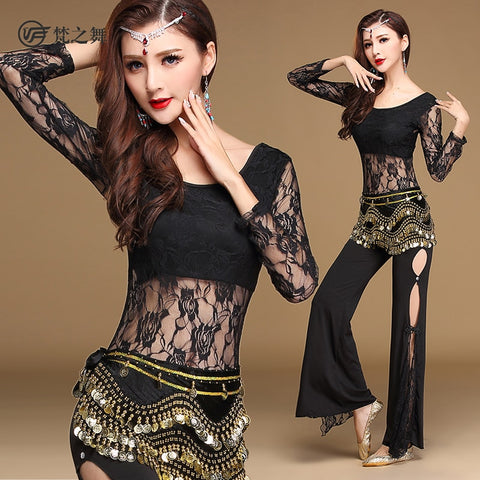 New Belly Professional Dance Costume Set