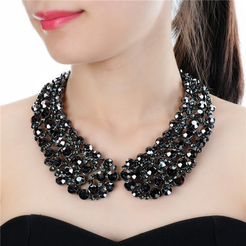 Fashion Luxury Collar Choker Embellished With Pendants