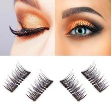 Double Magnet Full 3D Natural Magnetic Lashes Easy Wear & Reusable - icu-sexy
