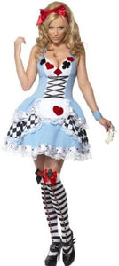 Smiffys Fever Miss Wonderland Costume