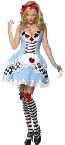 Smiffys Fever Miss Wonderland Costume - ICU SEXY