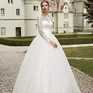 Luxury Wedding Bridal Ball Gown Sweetheart Neckline Lace Up