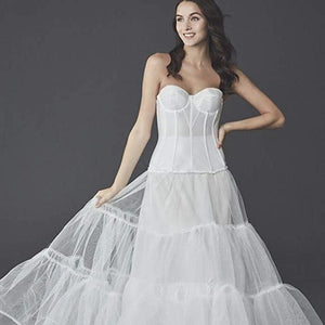 Women's Wedding Ball Gown Silhouette Slip Style