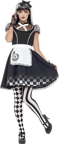 Women's Gothic Alice In Wonderland Costume