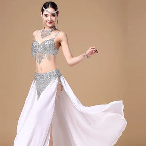 Professional Sparkling Egyptian Belly Dancer Costume