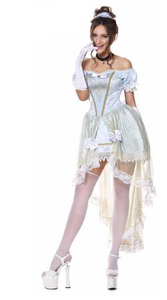 Princess Cosplay Brocade Fancy Masquerade Costume - ICU SEXY