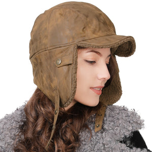 Mens & Women's Winter Fashion Russian Bomber Hats