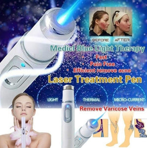 Blue Laser Pen Wrinkle Removal, Scar Removal, Spider Vein Removal Device - ICU SEXY