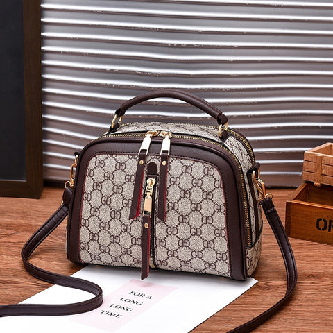 Women's High Quality Popular Trendy Brand Fashion Handbag + Crossbody Strap