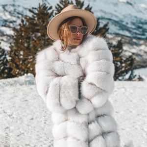 Winter Women's Nordic Thick Fluffy Faux Fur Winter Coat - ICU SEXY