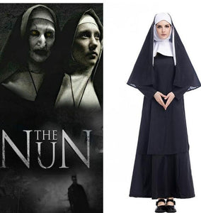 Virgin Nun Sinister Cosplay Catholic Dress Costume - ICU SEXY