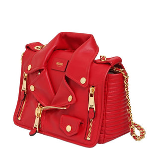 Women's Red Leather Tassel Famous Luxury Designer Brand Fashion Bag - icu-sexy