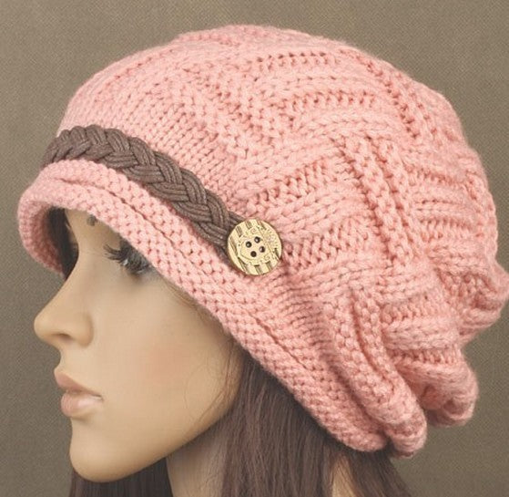 Popular Designer Solid Knitted Lined Hats - ICU SEXY