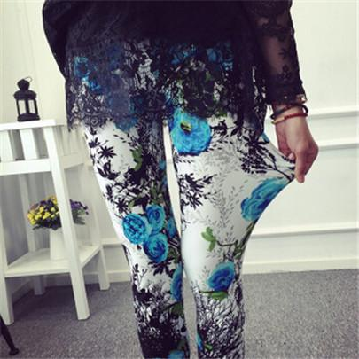 Women's Fashion Graffiti Leggings - ICU SEXY