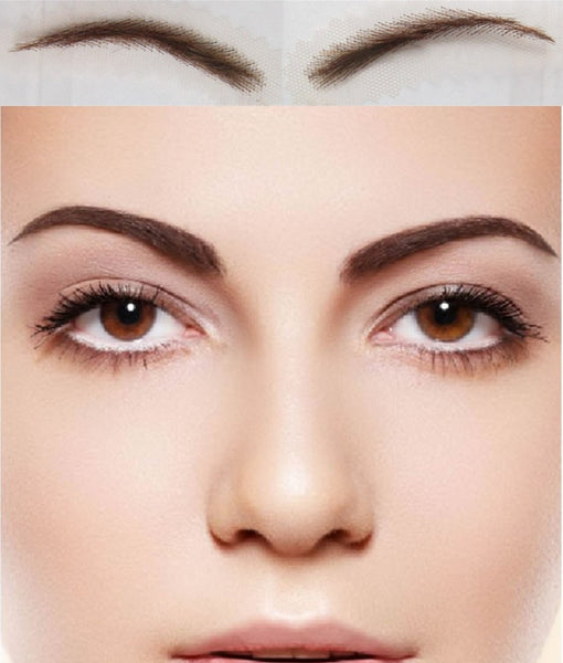 Long-lasting Natural Human Hair Eyebrows - icu-sexy