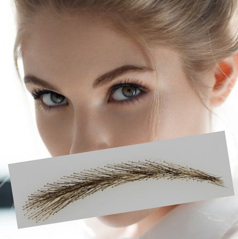 2017 Rushed Sobrancelha Eyebrows Factory Supply Three-dimensional Shape /lace Eyebrow Type Fashion Real Easy To Wear Wig Brow