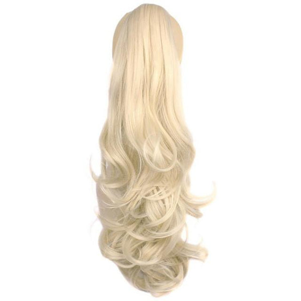 Pure Color Heat Resistant Synthetic Ponytail Hairpiece - ICU SEXY