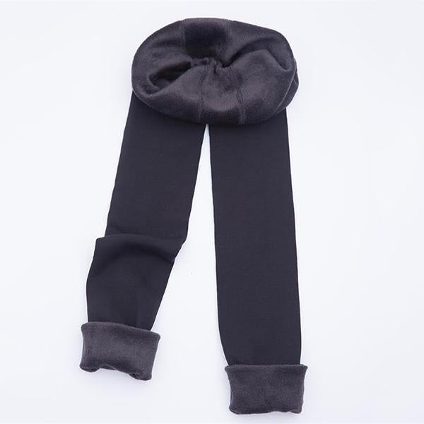 Tresdin Autumn Winter Fashion Explosion Model Plus Thick Velvet Warm Seamlessly Integrated Inverted Cashmere Leggings Warm Pants - icu-sexy