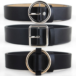 HOT Women's Style Circle Pin Buckle Fashion Belts All Sizes - ICU SEXY