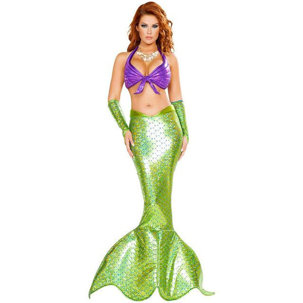 Adult Mermaid Princess Cosplay Party Costume