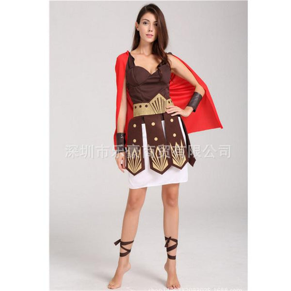 Greek Goddess Cosplay Costume Roman Princess Athena Costume - icu-sexy