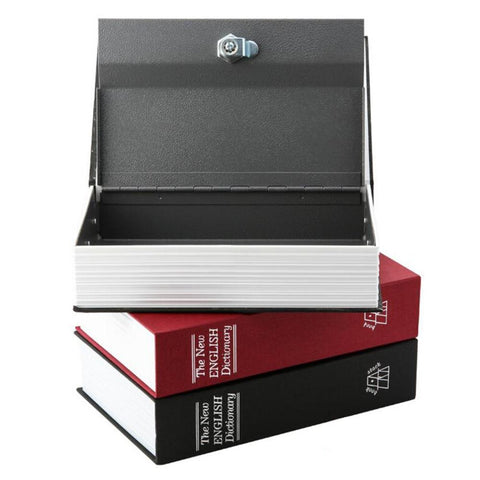 Dictionary Book Secret Hidden Security Safe Box  3 Colors - ICU SEXY