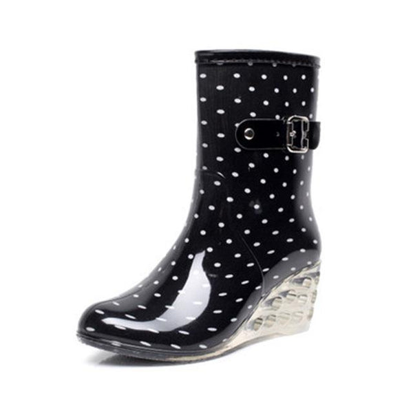Women's New Designer Style Waterproof Fashion Boots - icu-sexy