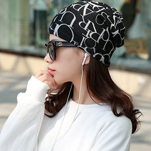 Women's Popular Brand HipHop Hat & Scarf - ICU SEXY