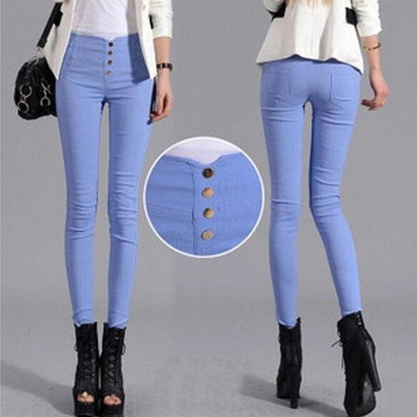 High Waist Summer Style High Waist Women's denim Jeans - ICU SEXY