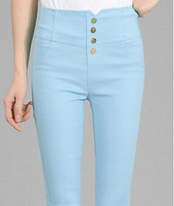 High Waist Summer Style High Waist Women's denim Jeans - icu-sexy