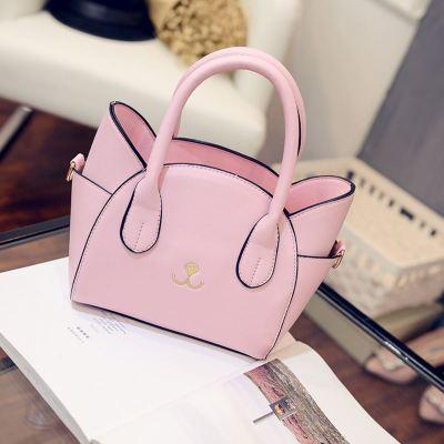 Women's Famous Designer Pink Luxury Cat In Bag Purse - ICU SEXY