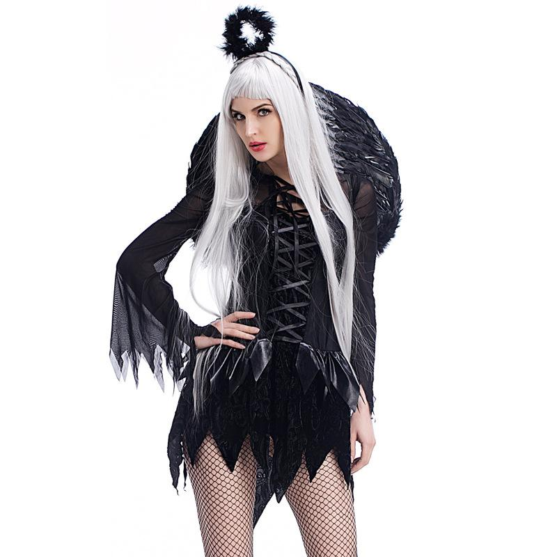 Zombie Black Angel Costume - ICU SEXY