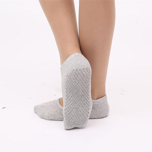 Pilates Socks Backless Fitness Women'S Non-slip Socks - icu-sexy