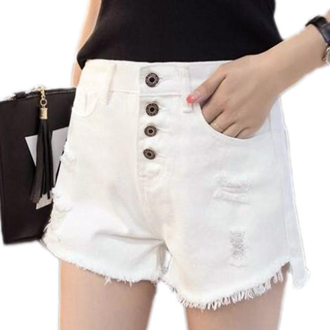 Women's Fashion Casual Denim Shorts - ICU SEXY
