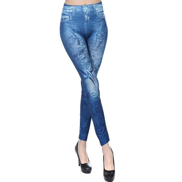 Summer New Women Leggings Punk Leggings - icu-sexy