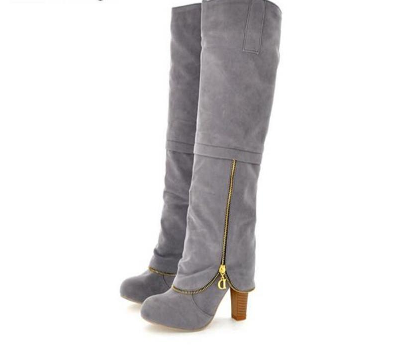 Women's New Designer Style Fashion Knee High Boot Collection - icu-sexy