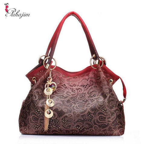 Hot Designer Brand  Floral Luxury Fashion Handbags - icu-sexy