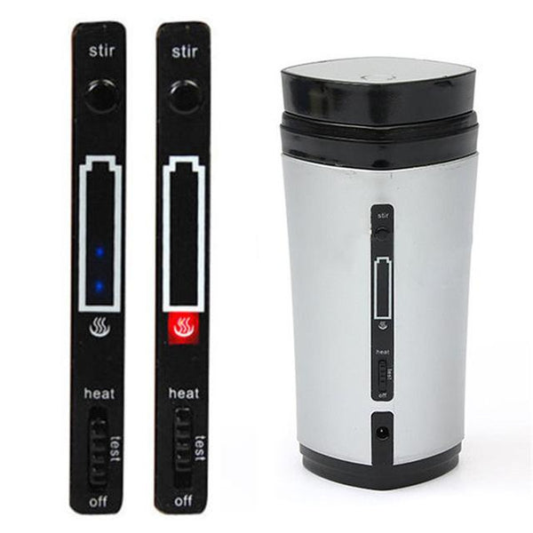5V USB Rechargeable Auto Heated Stirring Mixing Mug 3 Colors