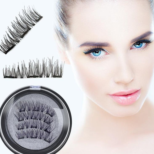 The most competitive prices together with free shipping and handling on the new and exclusive advanced water resistant reusable clip on micro magnetic artificial eyelashes that are taking the beauty market today by surprise.