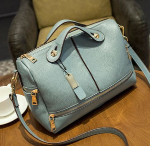 Luxury Brand Genuine Leather Designer Retro Handbag - icu-sexy