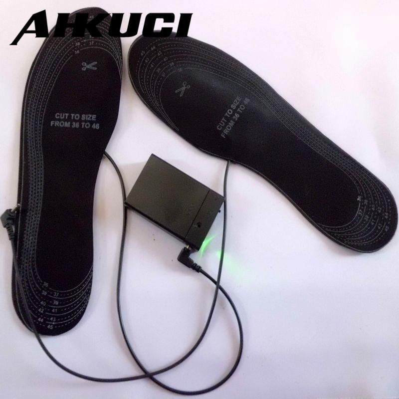 Promotional Winter Warming Shoes Insoles Battery Heating Insoles - icu-sexy