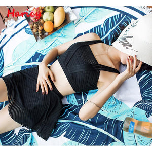 Women  Lace Bikini set Women Sexy Push UP High Waist Bikini Bathing Suit - ICU SEXY
