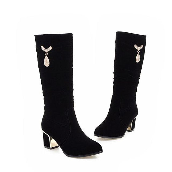 Women's Stylish Popular Designer Style Luxury Boot Collection - ICU SEXY