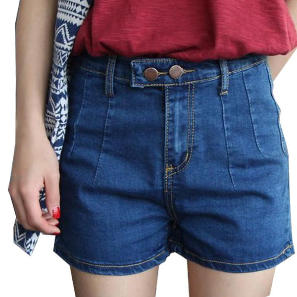 Women's Fashion  Stretch Denim Shorts - icu-sexy