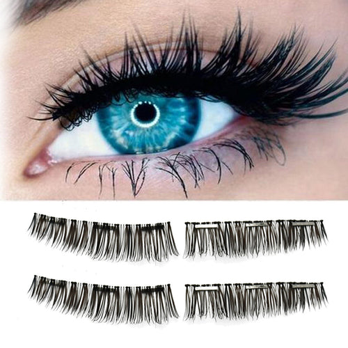 ICU Sexy has complimentary delivery on the brand new and amazing state of the art water-resistant reusable clip on micro magnetic false eyelashes.