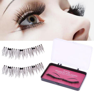Magnetic False Eyelashes with 3 Magnets Handmade Eye Lash Extensions - ICU SEXY
