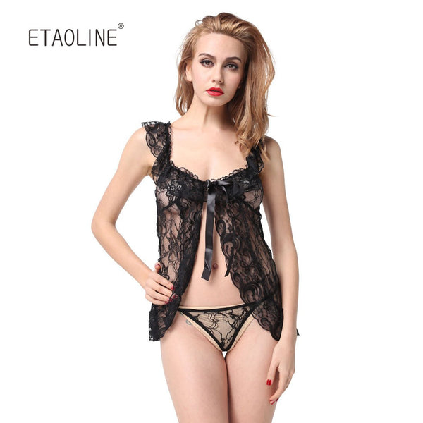 Women Hot Erotic Lace Lingerie Babydoll Sets - icu-sexy