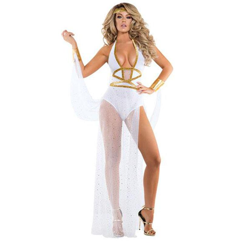 New Greek Goddess Cosplay Cleopatra Costume - ICU SEXY