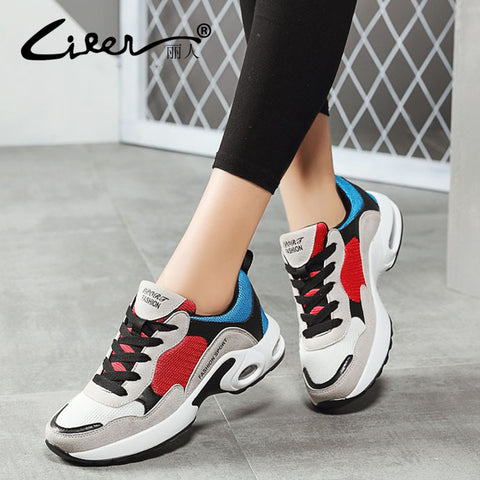 Women's Breathable Air Mesh Women Casual Sneakers Shoes - ICU SEXY