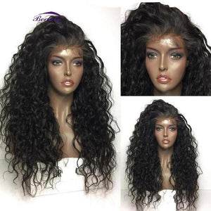 Glueless Pre Plucked Lace Front Medium Brown Human Hair Wig With Baby Hair - ICU SEXY